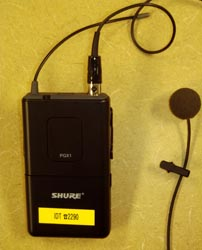 instructor wireless microphone