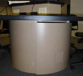student table pedestal